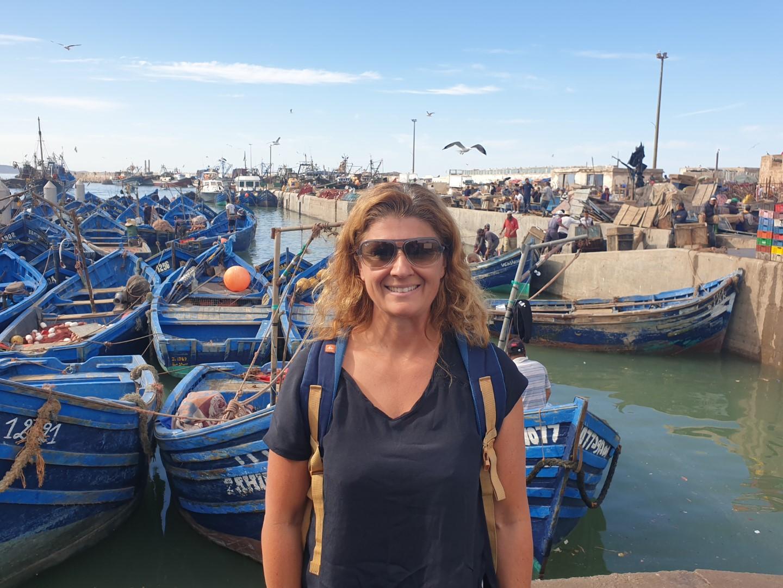 Céline FORTIN port et marché aux poissons Essaouira