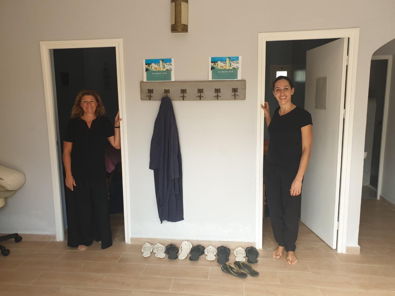 salle de massages Essaouira stage de jeûne Céline FORTIN