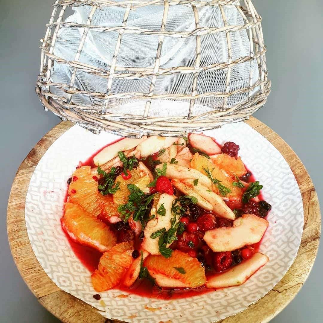 Salade de fruits frais,